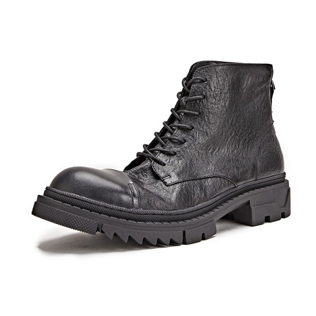 Harold Calf Leather Boots // Black (Size 39)