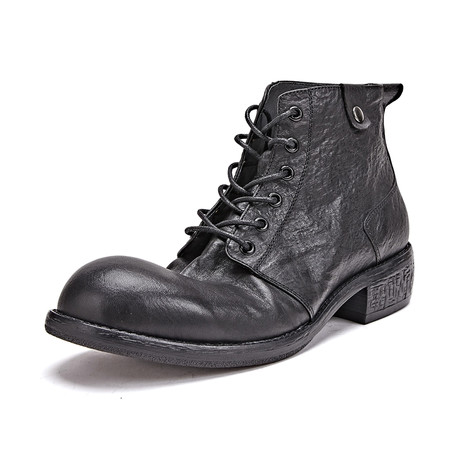 Adrian Calf Leather Boots // Black (Size 39)
