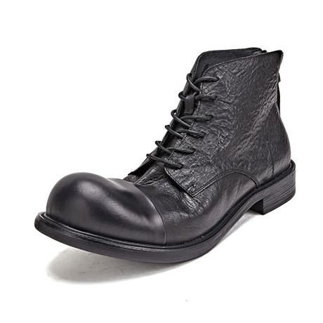 Kendrick Calf Leather Boots // Black (Size 39)