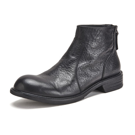 Lewis Calf Leather Boots // Black (Size 39)