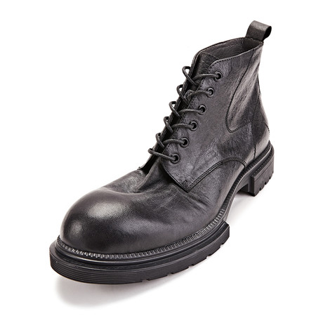 Luka Calf Leather Boots // Black (Size 38)