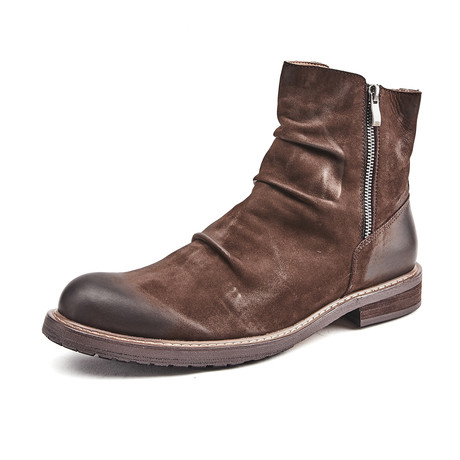 Liam Calf Leather Boots // Brown (Size 39)