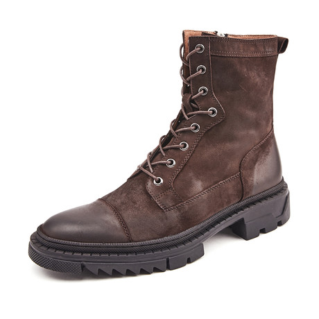 Maxim Calf Leather Boots // Brown (Size 38)