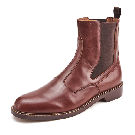 Brady Calf Leather Boots // Brown (Size 39)