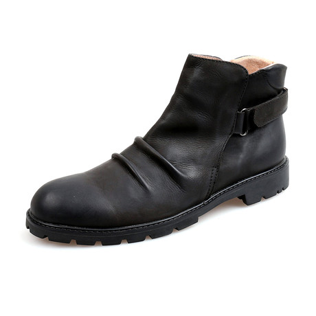 Aedan Calf Leather Boots // Black (Size 38)