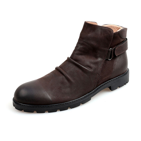 Aedan Calf Leather Boots // Brown (Size 38)