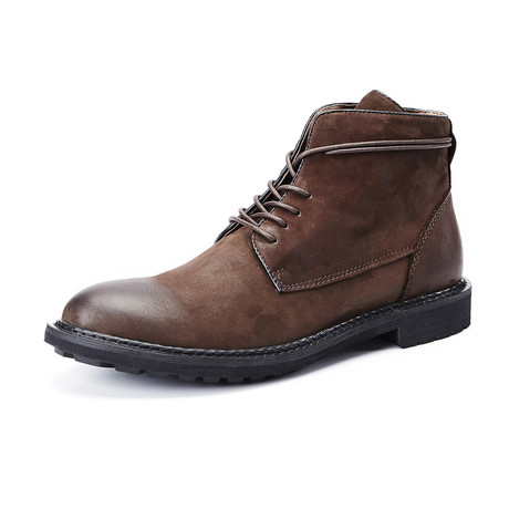 Corbin Calf Leather Boots // Brown (Size 39)