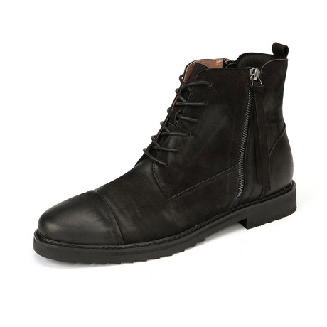 Cade Calf Leather Boots // Black (Size 38)