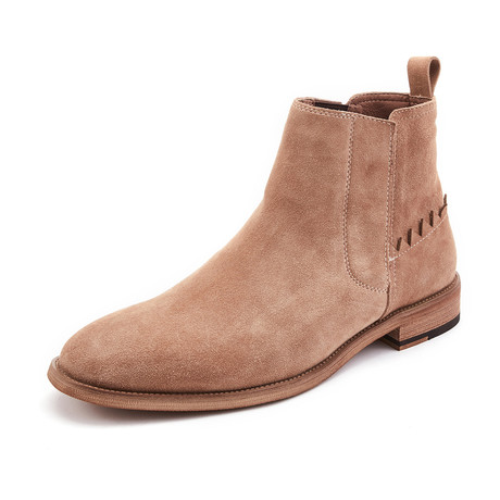 Reed Calf Leather Boots // Apricot (Size 39)