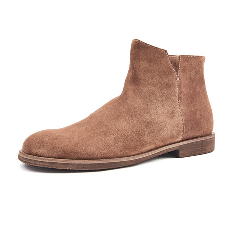 Joaquin Calf Leather Boots // Brown (Size 38)