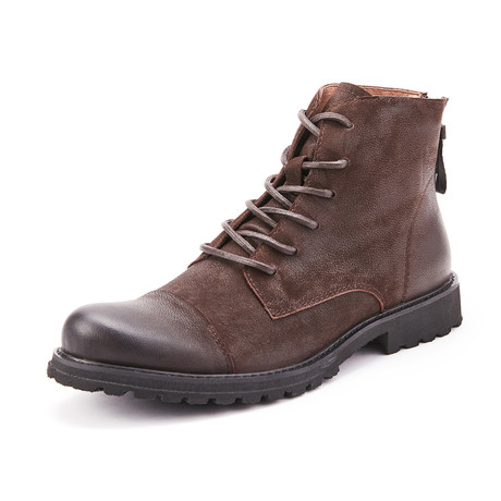 Jasper Calf Leather Boots // Brown (Size 39)
