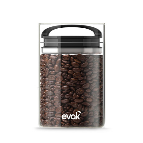 Evak Black Gloss Compact Handle // Medium