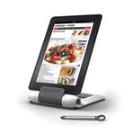 iPrep Tablet Stand + Stylus (White)