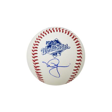 Mark McGwire // Signed Rawlings Baseball // 1989 World Series // Oakland A's