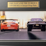 The Fast & The Furious // Dom's Dodge Charger // Replica License Plate Display