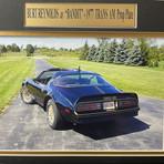 Smokey & The Bandit // 1977 Pontiac Trans Am // Replica License Plate Display