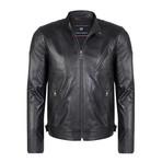 Amulius Leather Jacket // Black (L)