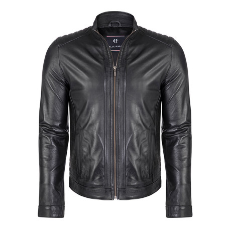 Consus Leather Jacket // Black (S)