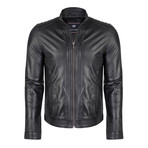 Consus Leather Jacket // Black (L)