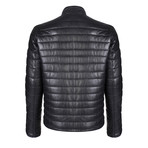 Aeneas Leather Jacket // Black (L)