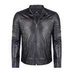 Italus Leather Jacket // Black (3XL)