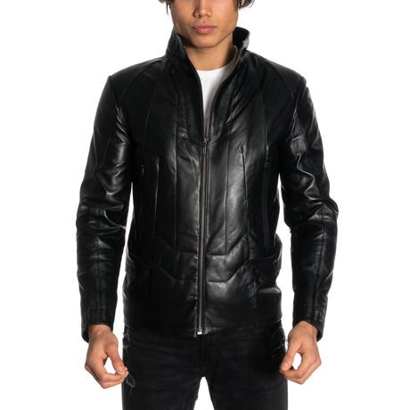 Eli Leather Jacket // Black (2XL)