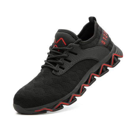 ZicZac // Black + Red (US: 5.5)