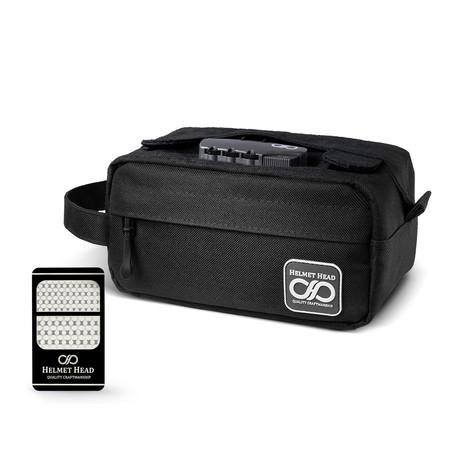 Compact Smell Proof Case // Sc30 Black + Grinder Card