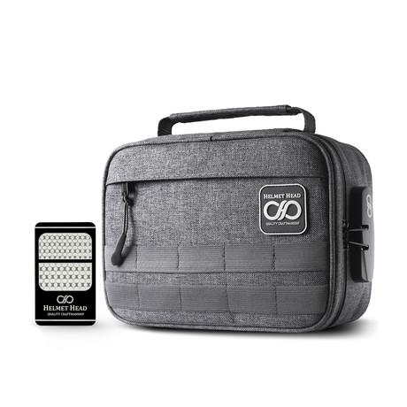 Smell Proof Case // Kb24 Gray + Grinder Card