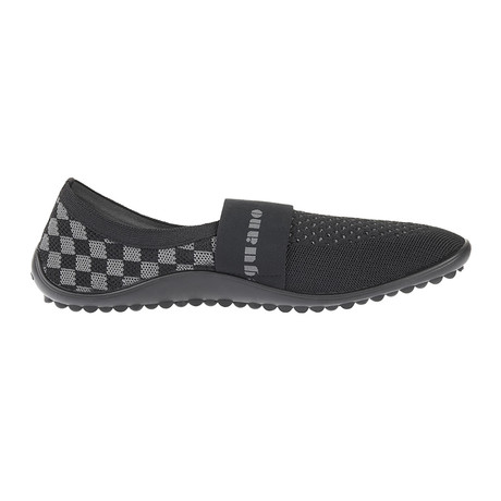 Chess Pepper Shoe // Black + Silver (Size 41)