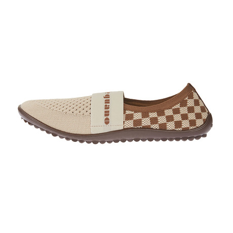 Chess Coco Shoe // Brown + Beige (Size 41)