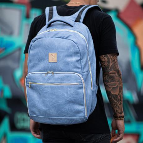 Commuter Bag // Baby Blue