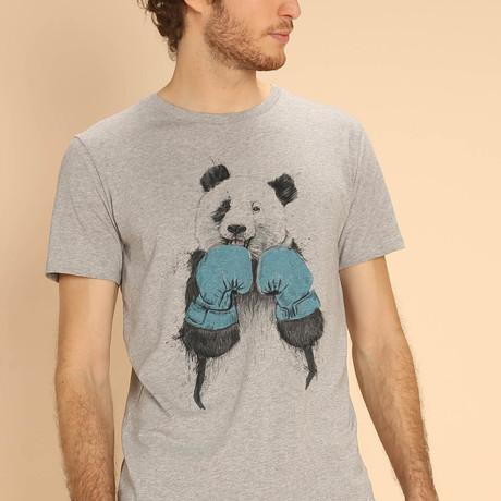 The Winner Panda T-Shirt // Gray (S)