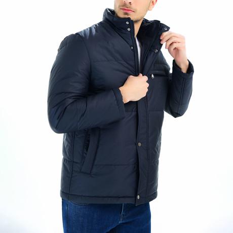 Matteo Coat // Dark Blue (Small)