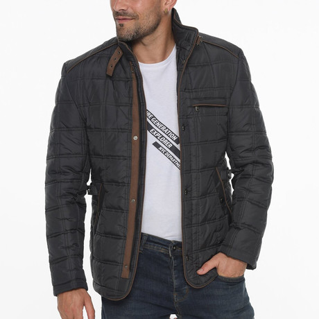 Bailey Coat // Anthracite (Small)