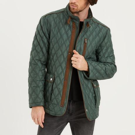 Keon Coat // Dark Green (Small)