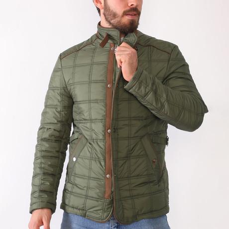 Bailey Coat // Dark Khaki (Small)