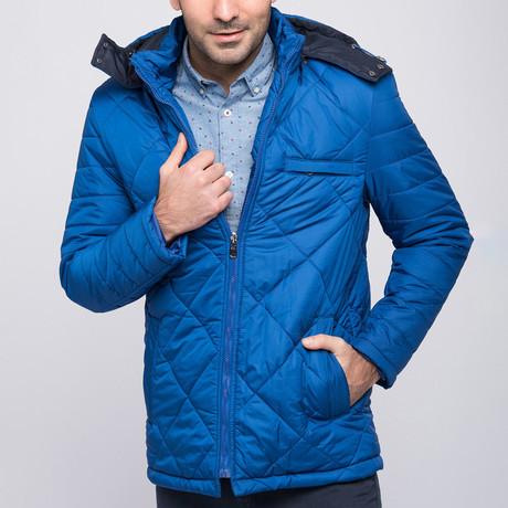 Xavier Coat // Sax Blue (Small)