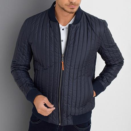 Asa Coat // Dark Blue (Small)