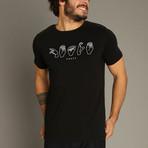 Peace T-Shirt // Black (S)