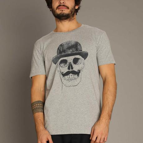 Gentlemen Never Die T-Shirt // Gray (S)