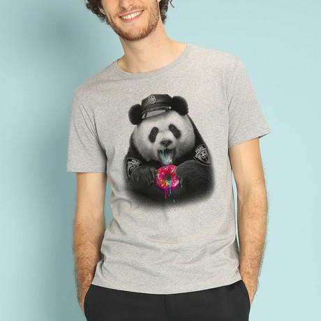 Donutcop T-Shirt // Gray (S)