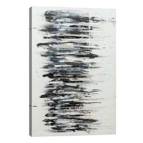 "Shading in Black // Shawn Jacobs (18""W x 26""H x 1.5""D)"