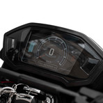 Daymak Road Warrior 72V Electric Bike + Motorcycle Helmet (Black)