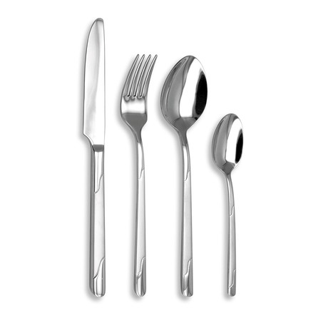 Boreal 16-Piece Precision-Forged Flatware Set