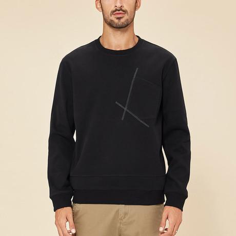 Asher Sweater // Black (M)