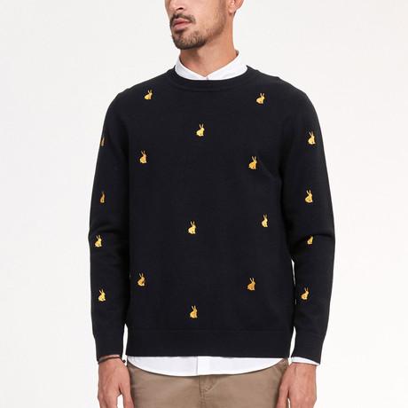 Jaden Knit Sweater // Black (M)