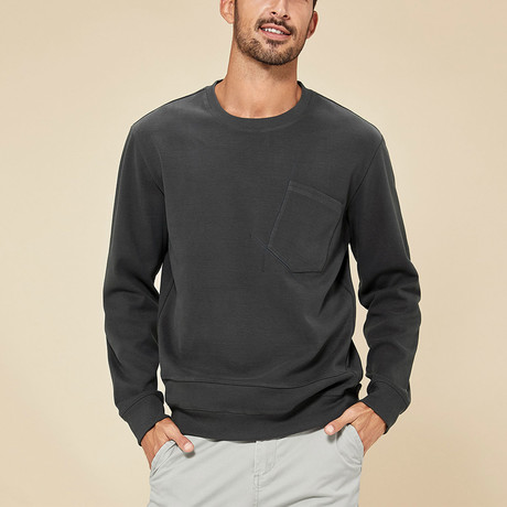 Asher Sweater // Charcoal (M)
