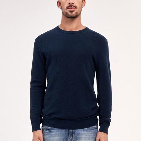 Nolan Knit Sweater // Navy (M)