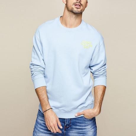 Callahan Sweater // Blue (M)